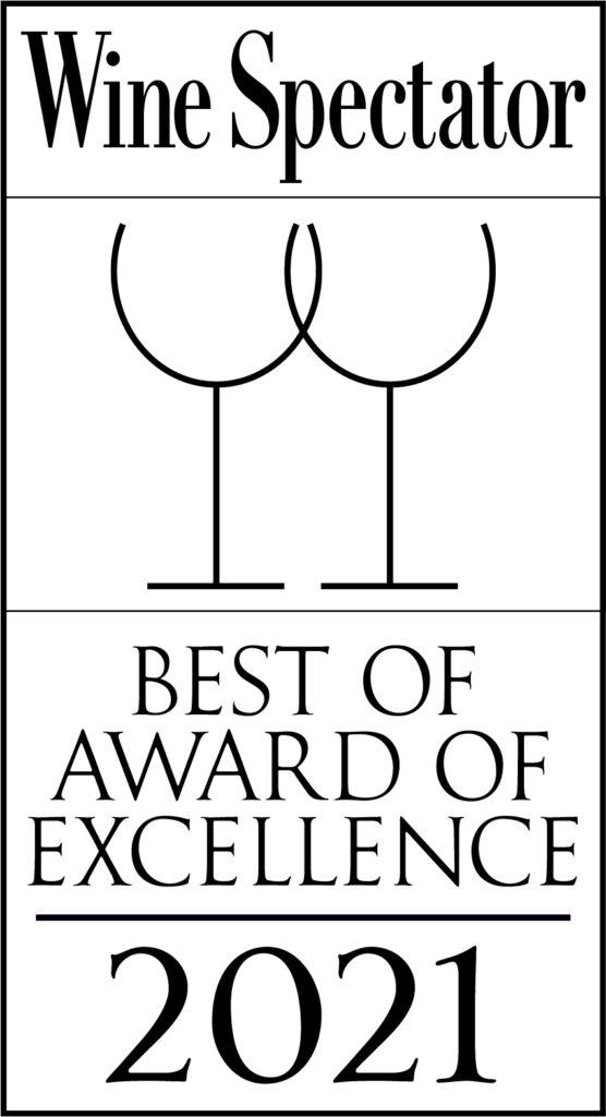 Wine Spectator Best of Award of Excellence 2021 Logo