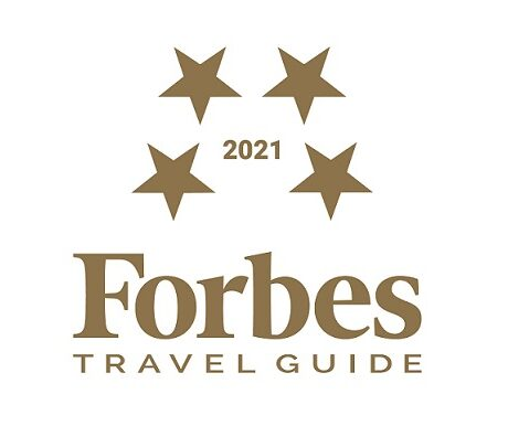 Forbes 4 Star Travel Guide 2021 Logo