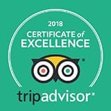 Tripadvisor Hall of Fame 2018 logo