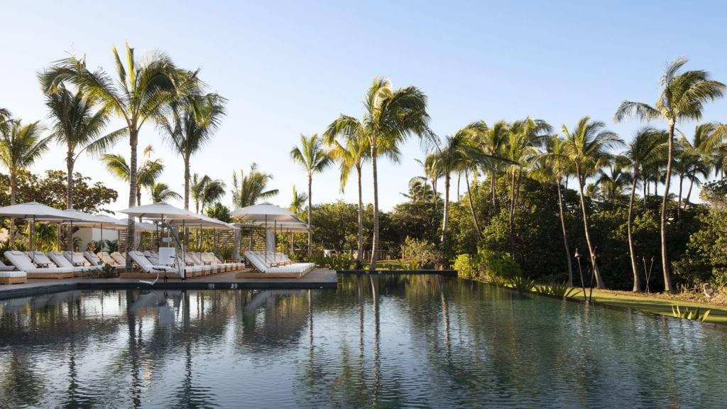 Pool at the Mauna Lani Resort